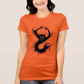 Scary Demon Creature Happy Halloween T-Shirt