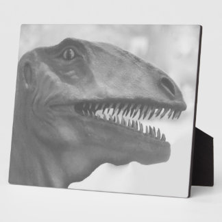 Scary Dinosaur Plaque