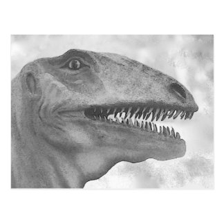 Scary Dinosaur Postcard
