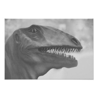 Scary Dinosaur Poster