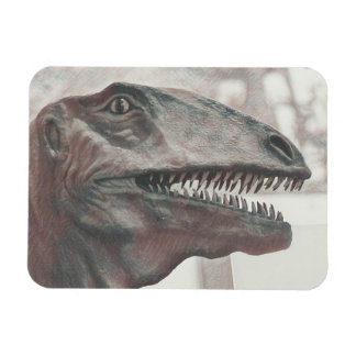 Scary Dinosaur Rectangular Photo Magnet