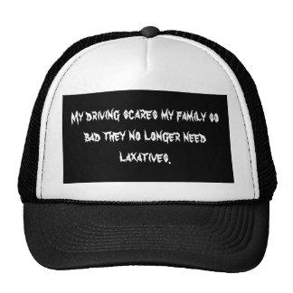 Scary Driving Hat
