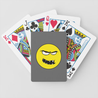 Scary Evil Smiley Face Poker Deck