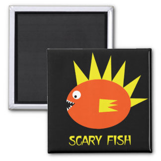 Scary Fish! Magnet