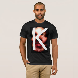 scary funny FACE K T-Shirt