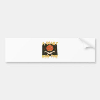 Scary Good Time Flag Bumper Sticker