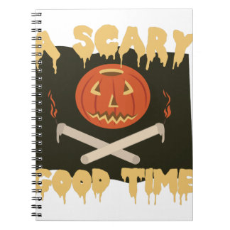 Scary Good Time Flag Spiral Notebooks