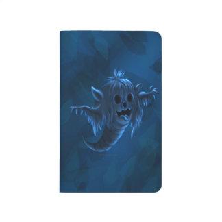 SCARY GOST HALLOWEEN CARTOON Pocket Journal