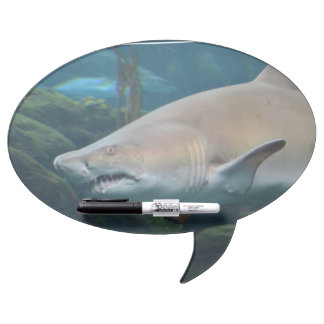 Scary Great White Shark Dry Erase Whiteboards