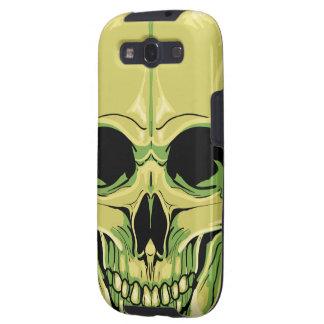 Scary Green Skull Samsung Case