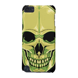 Scary Grinning Green Skull iPod Touch (5th Generation) Covers