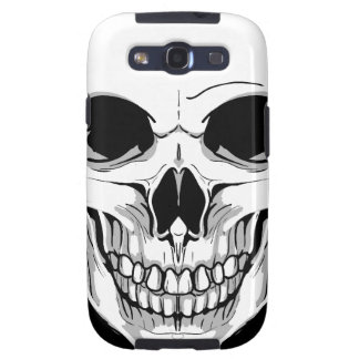 Scary Grinning Skull Galaxy SIII Covers
