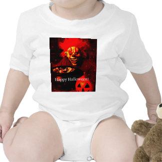 Scary Halloween Clown Design Bodysuits