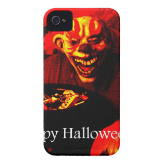Scary Halloween Clown Design iPhone 4 Case-Mate Case