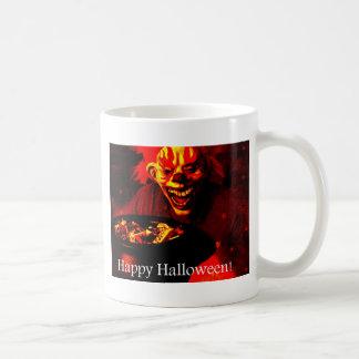 Scary Halloween Clown Design Coffee Mugs
