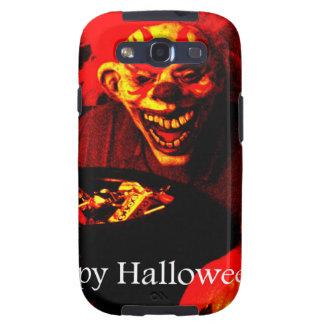 Scary Halloween Clown Design Galaxy SIII Case