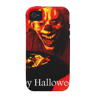 Scary Halloween Clown Design iPhone 4/4S Cases