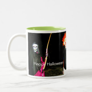 Scary Halloween Clown Mug