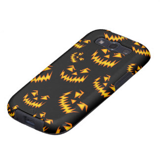 Scary Halloween Faces Galaxy SIII Covers