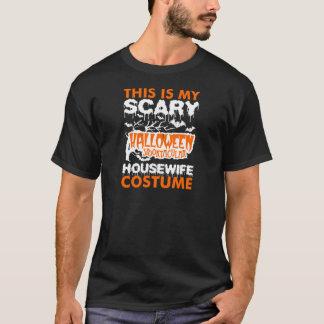 Scary Halloween Housewife Costume Tshirt