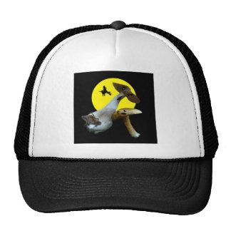 Scary Halloween Mushrooms Ballpark Cap Trucker Hat