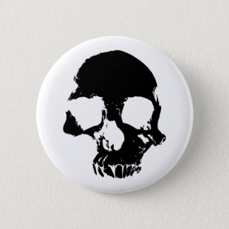 Scary Halloween skull cool gothic 2 Inch Round Button