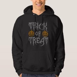 Scary Halloween Trick or Treat Hoodie