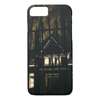 Scary Haunted Supernatural House Halloween Night Case-Mate iPhone Case