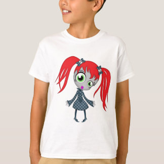 Scary Little Creepy Girl T-Shirt