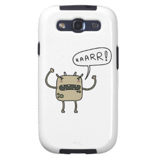 Scary Monster Samsung Galaxy SIII Case