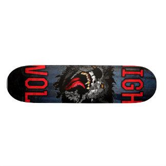 Scary Night Wolf Skate Board