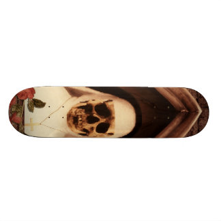 Scary now custom skateboard