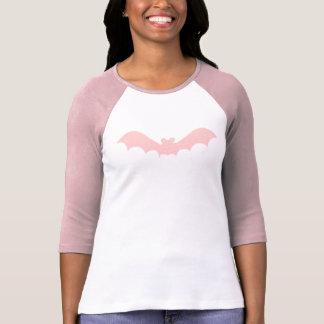 Scary Pink Bat Grunge Symbol Tee