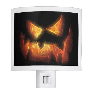 Scary Pumpkin Face Night Lite