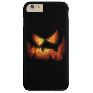 Scary Pumpkin Face Tough iPhone 6 Plus Case