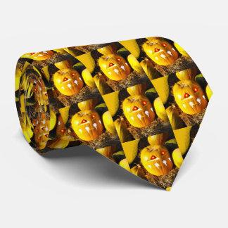 Scary pumpkins tie