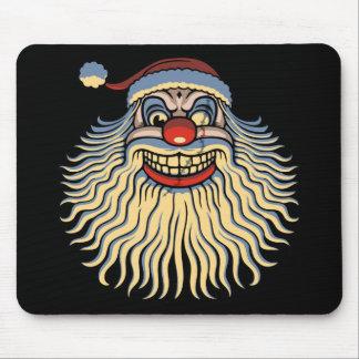 Scary Santa Clown Mouse Pad