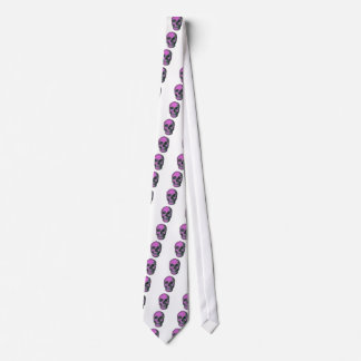 Scary Scull Tie