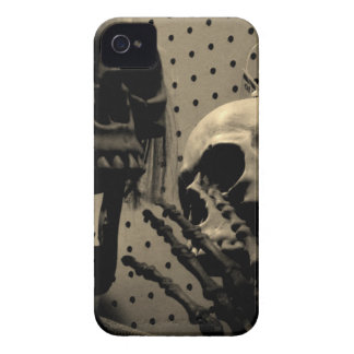 Scary Skeleton Items iPhone 4 Case