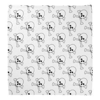 Scary Skull Crossbones Halloween Accessories Do-rags