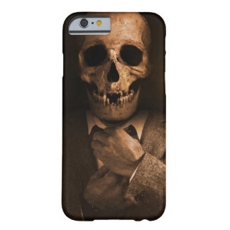 Scary Skull Man in Suit Barely There iPhone 6 Case