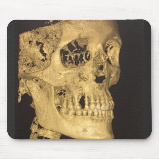 Scary Skull Mouse Pad