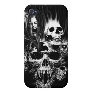 SCARY SKULLS iPhone 4/4S COVER