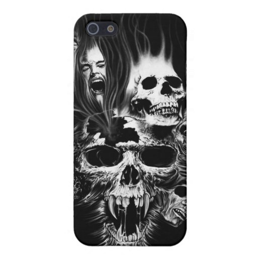 SCARY SKULLS iPhone 5 CASES