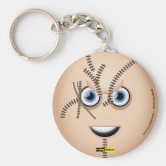 Scary Smiles - Chucky Basic Round Button Keychain