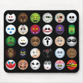 Scary Smiles -  Monsters & cia Mouse Pad