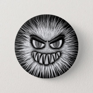 Scary Snowman 2 Inch Round Button