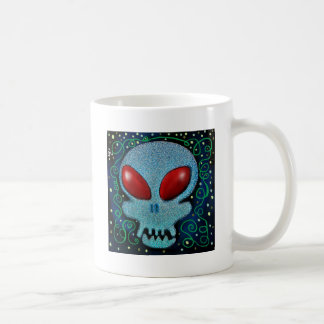 Scary Sunday Skull Coffee Mug