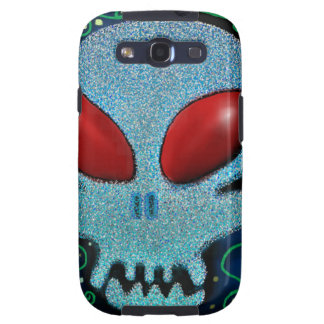 Scary Sunday Skull Samsung Galaxy S3 Covers