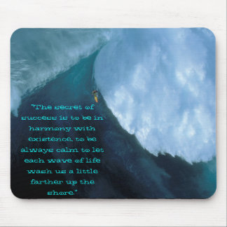 "scary surf, ""The secret of success is to be in ... Mouse Pad"